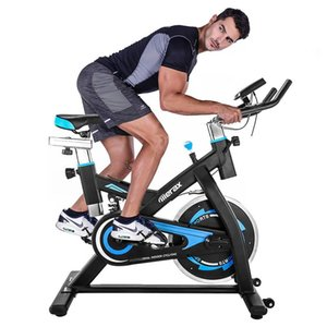 2020 Indoor Cycling Bike Belt Drive Exercise Equipment With 28lbs Flywheel - Black63b3#
