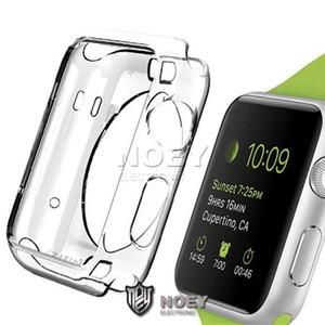 Прозрачный ТПУ мягкий чехол рамка для Apple Watch Series 4 3 2 38 мм 40 мм 42 мм 44 мм Кристалл гель бампер с OPP Bag noey