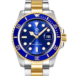 Rose Gold ocysa Luxo mens moda Women homem japonês Quartz Ladies Wrist homens Relógios do relógio Marca Montre relógio de pulso