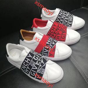 Givenchy Neue Luxus-Mann Frauen Ass Sneaker hococal mit braunen Streifen Elastizität hochwertige Art und Weise beiläufige Schuhe mit Originalgröße 34-46