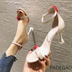 2020 Women Sandals Black Fashion High-heeled Sandals Elegant Sexy Sweet Party Women's