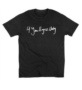 Mens T Shirts Fashion 4 Votre Eyez Seulement J Cole T Shirt Coton O NECK Imprimer T-shirt À Manches Courtes D'été De Haute Qualité Tshirt
