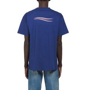 19SS 남성 T 셔츠 높은 품질 2020 남성 여성 커플 캐주얼 짧은 소매 남성 라운드 넥 티셔츠 4 색 LKJD