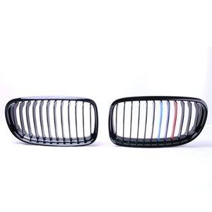 2pcs / Linha dupla Par Kidney Corrida Grills para BMW M3 E90 E91 320i-335i 2009-11 Pré-facelift 4DR Saloon ou Touring Car Parts Bmw