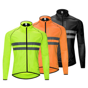 Outdoor Camping Reflective Jacket High Visibility Jacket Waterproof Running Vest Night Riding Safety Vest Mountain Bike Riding Clothing
