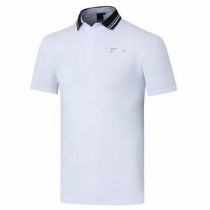 New Men manga curta T-shirt Golf 4 cores Homens Sports golfe roupas S-XXL na escolha da camisa Titl Lazer
