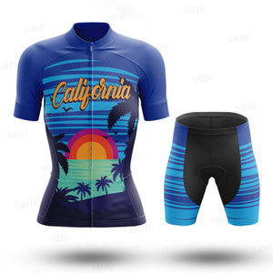 Cycling Jersey 2020 Women's pro team cycling jersey set Summer breathable quick-drying go pro clothing