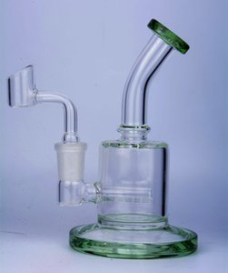 Beaker Bong Water Pipes Smoking Accessories Oil Rigs Thick Glass Water Bongs Pink Hookahs With 14mm Banger