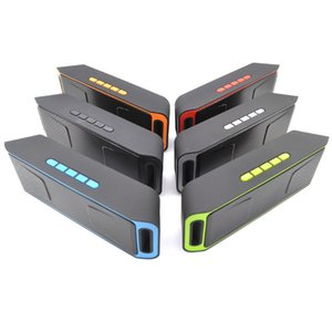C208 Mini Portátil Bluetooth Speakersb Sem Fio Loudly Music Player Grande Potência Subwoofer Suporte TF USB FM Rádio