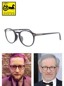 SPEIKO جولة إطارات من الرجال والنساء TF5294 الموضة خلات إطار رقيقة مشهد بصري نظارات قصر النظر النظارات نظارات القضية الأصلية