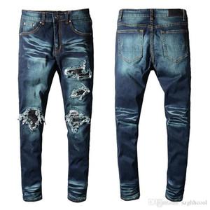 Pantalones de diseñador para hombre Pantalones a rayas Otoño Invierno para hombre Pantalones vaqueros de diseño Pantalones de algodón casual Pantalones para hombre