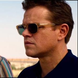 Lemtosh Johnny Depp Miyop güneş gözlüğü Matt Damon açık sarı yeşil ilerici güneş gözlüğü SPEIKO erkekler kadınlar güneş UV 400 gözlük güneş gözlüğü