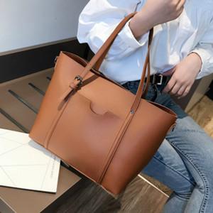 High Capacity Women Handbag Leather Women Shoulder Bags Messenger Bags Ladies Casual Tote Sac A Main CA6852