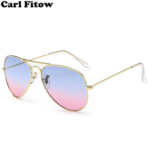 Fashion Driving Sunglasses Men Women Brand Designer Metal Pilot Sun Glasses Male Female UV400 Eyeglasses gafas