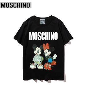 homens de frete grátis e mulheres Marca designer de moda T-shirt DFMoschino Design original de Hip Hop MensT-shirt sapatos Chaoren Guochao T-shirt