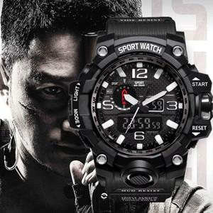 Herren-Uhren 2020 heiße Verkaufs-Art- Uhr-Mann-G-Art-wasserdicht Sport-Militäruhr Shock Luxus-Analog-Digital-Sport-Uhren