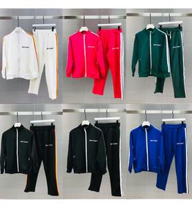 En Qaulity Palmiye eşofman sweatshirt Suits erkekler pantolonunuza Sportswear kazak Lüks eşofman erkek ceketi ceket hoodie izlemek mens