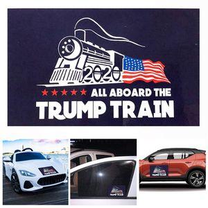 2020 Trump Araç Plakası Donald Trump Dekor Araç Tampon etiketi 2020 Amerika Başkanı Seçim Lokomotif Çıkartma duvar Etiketler BH2257 TQQ