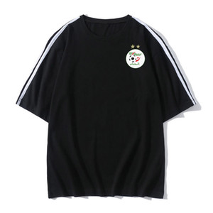 algeria mens Soccer Football T shirt adult Short sleeve Soccer Jerseys summer fashion Leisure Brand Football shirt Men's T-Shirts