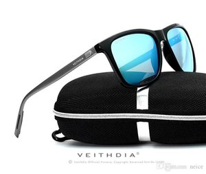 2017 new veithdia retro alüminyum tr90 güneş gözlüğü polarize lens erkek erkek gözlük aksesuarları sürüş güneş gözlükleri spor gözlüğü
