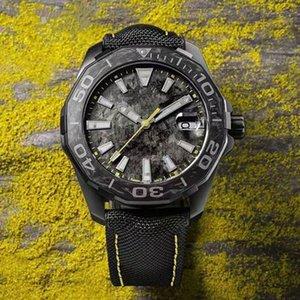 2020Wholesale de las últimas relojes, relojes mecánicos automáticos de los hombres, cinturón de tela, cinta de acero, de casos de metal de titanio, entrega libre