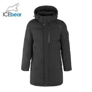 İcebear 2019 Yeni Kış Coat Yüksek Kalite Erkek Ceket Marka Giyim MWD19922I Y191214