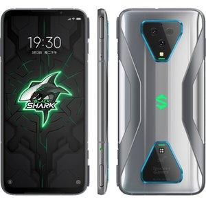 "Original Xiaomi Black Shark 3 Pro 5G Mobile Phone Gaming 12GB RAM 256GB 512GB ROM Snapdragon 865 64.0MP AI 5000mAh Android 7.1"" Full Screen Fingerprint ID Smart Cell Phone"