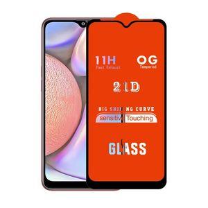 21D de la cubierta completa completa Pegamento de cristal templado protector de la pantalla para el iPhone Samsung Galaxy 11 2019 A10E A10S A20S A20S A30S A50 A70 M20