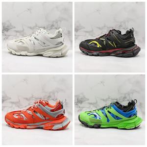 Track Release 3.0 Tess S Paris Triple S Кроссовки с прозрачной подошвой Мужская дизайнерская обувь Для женщин Мужчины Кроссовки Кроссовки Корзины Szie 11