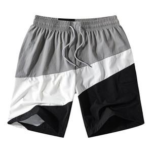 Designer Men's Shorts 2020 New Arrival Fashion Summer Mens Active Short Pants Brand Men Casual Patchwork Shorts 2 Styles Size S-2XL