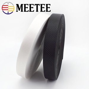 Meetee Nylon Webbing 25mm Width Jacquard Lace Ribbon for Backpack Luggage Bags Belt Sewing DIY Handmade Crafts Accessory RD207