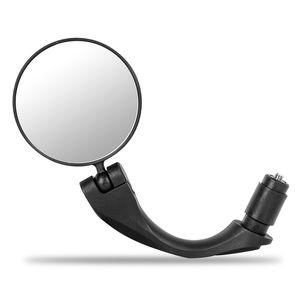 WEST BIKE Bike Specchietto retrovisore della strada di MTB Accessori Biciclette rotativo da 360 gradi Presa di manubrio Plug in bicicletta Specchio retrovisore