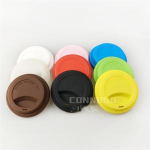 Силиконовые чашки крышка круглые формы кофейные кружки крышки анти пыли посуда крышка бар аксессуар 9 см 1 2kn E1