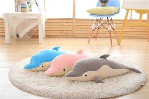 2020 New Hot ventes bleu ciel gris rose mignon dauphin en peluche enfants cadeau Livraison gratuite