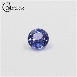 5мм против класс природные танзанит свободный драгоценного камня для ювелирных изделий DIY реальный танзанит обручальное кольцо