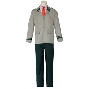 Cosplay Boku No Hero Academia My Hero Academia Izuku Blazer Costume School Uniform Full Suit
