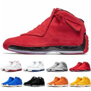 2019 18 18s XVIII Scarpe da pallacanestro da uomo Toro OG ASG Nero Bianco Rosso Blu Royal Atletico Sneakers sportive sneaker designer