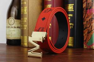 Cinturón 2018 en punta Cinturones de hebilla M cinturones de diseño cinturón de cuero real cinturones de lujo para hombres y mujeres