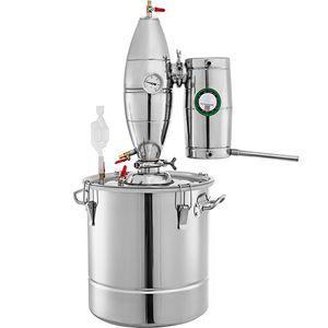 Edelstahl 50L Kleine Alkohol Startseite Distiller Mondenschein Stills Alkohol Distiller Alkohol Distiller Mondenschein Weinherstellung Boiler