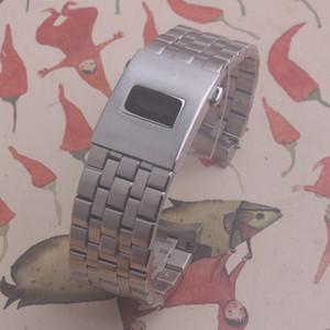 I cinturini in acciaio inossidabile Stee 20mm 21mm cinturino bracciale cinturino per cinturino in acciaio inossidabile per IWC IW3777