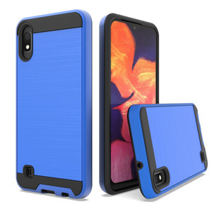 For Huawei Y6 2018 Y7 2018 Honor 7C Y5 2018 P20 Pro P20 Plus P20 Lite NOVA 3E Brushed Armor Hybrid Case PC Hard Cover Shockproof Phone Case
