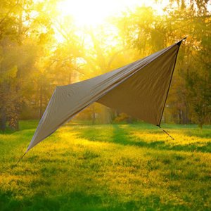 Multi Function Tents And Shelters Sunscreen Sky Screen Outdoors Camp Edc Waterproof Sunshade Cloth Colors Mix Portable 58qaf1