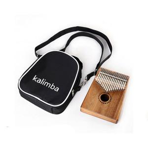 Корпус инструмента Thumb Piano Bag Клавиатура Музыкальный инструмент Crossbody Посланника Сумки для KALIMBA