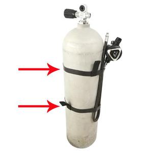 35cm / 47cm Tüplü Dalış Tank Silindir Kayış Ağırlık Dokuma Kemer Dalış Tankı Sırt Çantası Silindir Tutucu Bant