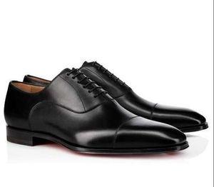 Бренд мужчины Dress Shoes Red Bottom Loafers роскошные свадебные туфли дизайнер черный натуральная кожа замша Dress Shoes мужские скольжения на квартирах
