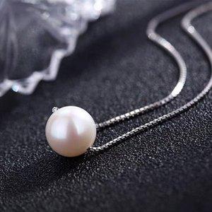 SINLEERY Simple Style Lady unique perle Collier ras du cou couleur or rose d'argent de la chaîne de mariée mariage bijoux XL085 SSH