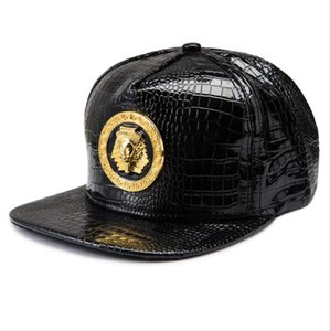 Leather Trucker Hat Fashion Snapback Red Baseball Medusa Caps Brand Hats Logo Sports Hip Hop Rap DJ Men Women Gift Fast Shipping