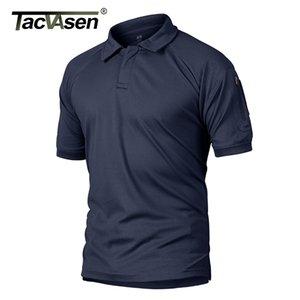 TACVASEN verano camisetas Hombres Ropa táctico camiseta de secado rápido de combate del Ejército Rendimiento liviano camisetas