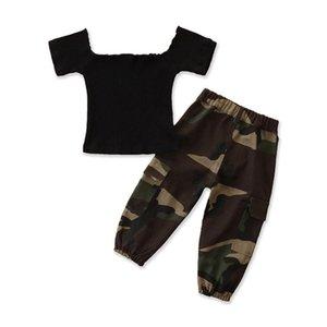Hip Hop Dance crianças Roupa para meninas Jazz Vest Top camuflagem completa Calças Costumes Ballroom dança Vestuário Outfits
