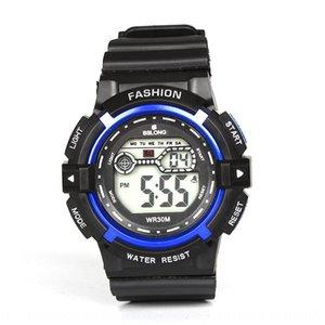 D7s6j Red Stone Men's waterproof dual-movement sports waterproof multifunctional mountaineering men's electronic Electronic Watch Watch watc
